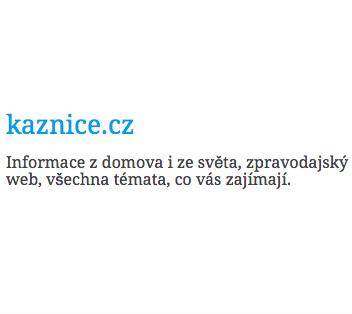 Kaznice